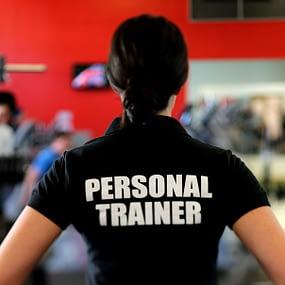 female trainer